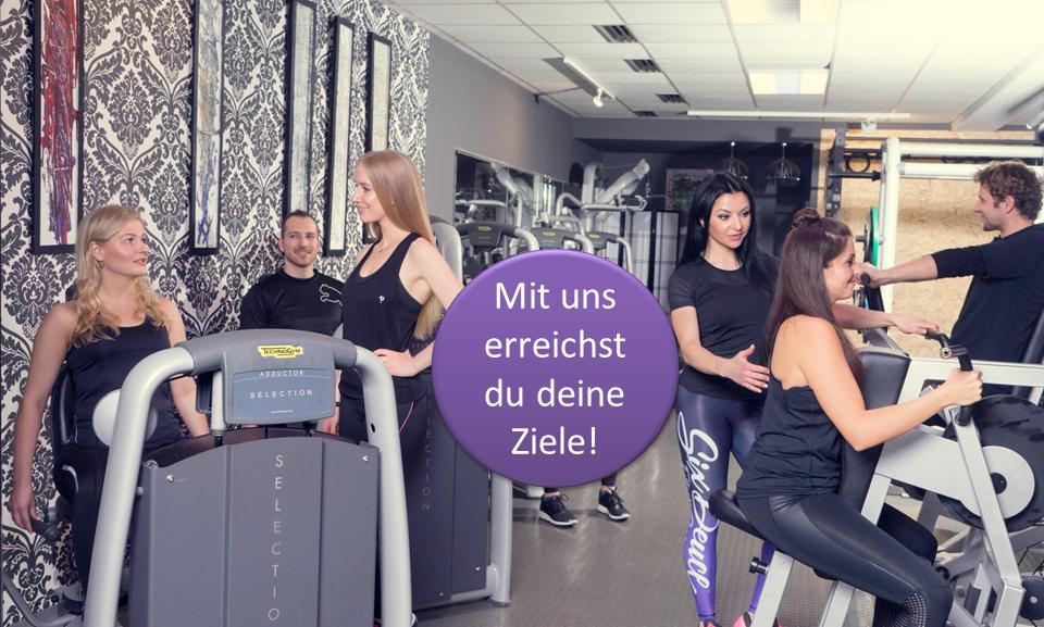 hochwertige Betreuung, Ziele erreichen, Fitnessstudio, Studio21